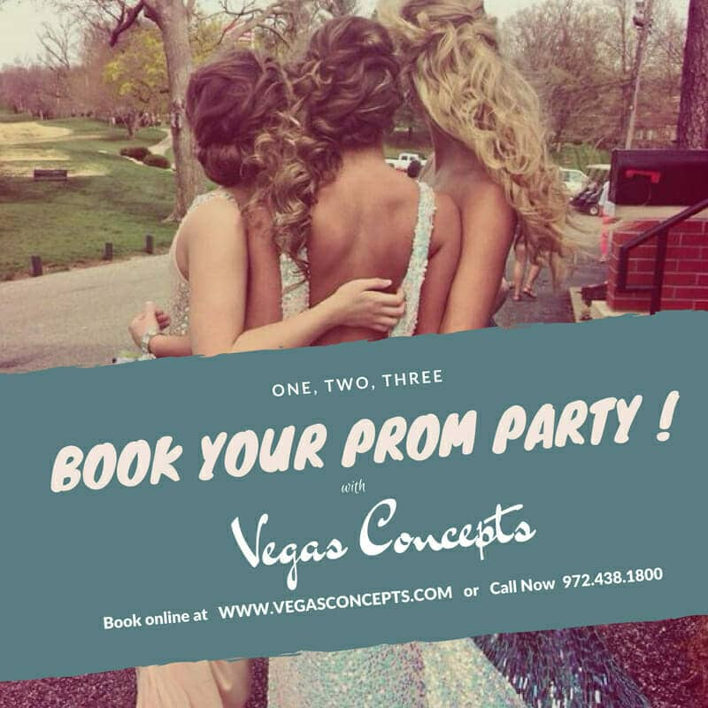 123 Book Your Prom Party